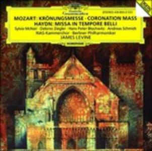 CD Messa in Do K317 / Missa in tempore Belli Franz Joseph Haydn , Wolfgang Amadeus Mozart