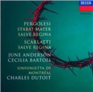 Salve Regina - Stabat Mater - CD Audio di Giovanni Battista Pergolesi,Alessandro Scarlatti,June Anderson