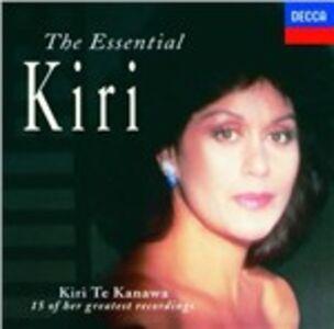 Foto Cover di The Essential Kiri, CD di Kiri Te Kanawa, prodotto da Decca