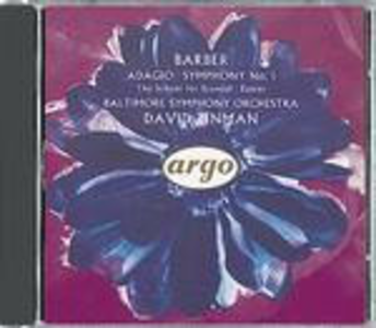 CD Adagio - Sinfonia n.1 di Samuel Barber