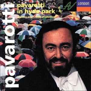CD Pavarotti in Hyde Park