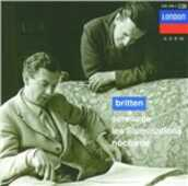 CD Serenade - Les Illuminations - Nocturne Benjamin Britten Peter Pears