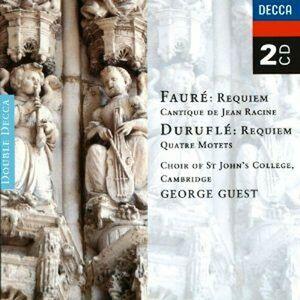 CD Requiem Gabriel Fauré , Maurice Duruflé