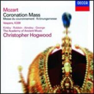 Foto Cover di Messa K317 - Vesperae Solennes de Confessore, CD di AA.VV prodotto da Deutsche Grammophon