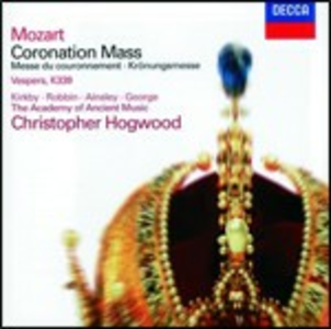 CD Messa K317 - Vesperae Solennes de Confessore di Wolfgang Amadeus Mozart