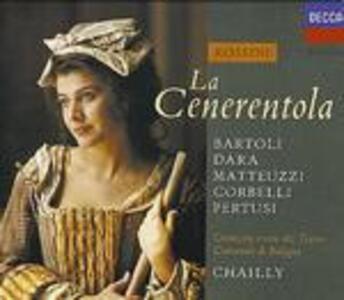 La Cenerentola - CD Audio di Cecilia Bartoli,Gioachino Rossini,Riccardo Chailly,Orchestra del Teatro Comunale di Bologna