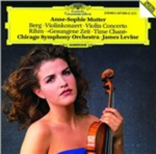 CD Concerto per violino / Time Chant Alban Berg , Wolfgang Rihm
