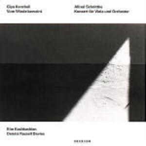 Vom Winde Beweint / Concerto per viola - CD Audio di Alfred Schnittke,Giya Kancheli