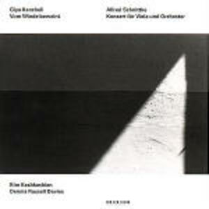 CD Vom Winde Beweint / Concerto per viola Alfred Schnittke , Giya Kancheli