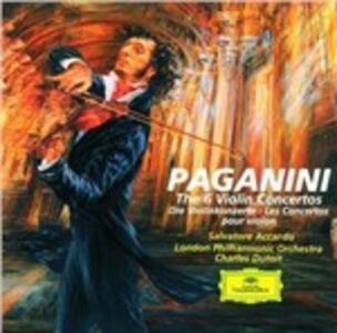Concerti per violino - CD Audio di Niccolò Paganini,Salvatore Accardo,London Philharmonic Orchestra