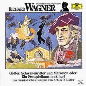 CD Wir Entdecken Komponisten di Richard Wagner