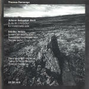 Suite per violoncello n.1 BWV1007 - CD Audio di Johann Sebastian Bach,Thomas Demenga