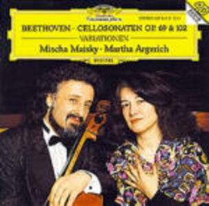 CD Sonate per violoncello e pianoforte di Ludwig van Beethoven