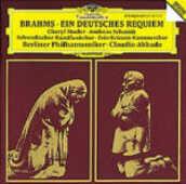 CD Un Requiem tedesco (Ein Deutsches Requiem) Johannes Brahms Claudio Abbado Berliner Philharmoniker