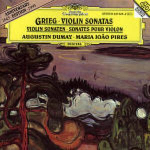 CD Sonate per violino e pianoforte di Edvard Grieg