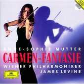 CD Carmen Fantasie James Levine Anne-Sophie Mutter Wiener Philharmoniker