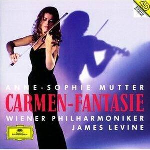 Carmen Fantasie - CD Audio di James Levine,Anne-Sophie Mutter,Wiener Philharmoniker