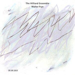 Foto Cover di Walter Frye, CD di Hilliard Ensemble,Walter Frye, prodotto da ECM Records