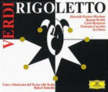 Rigoletto - CD Audio di Giuseppe Verdi,Renata Scotto,Carlo Bergonzi,Fiorenza Cossotto,Dietrich Fischer-Dieskau,Rafael Kubelik,Orchestra del Teatro alla Scala di Milano