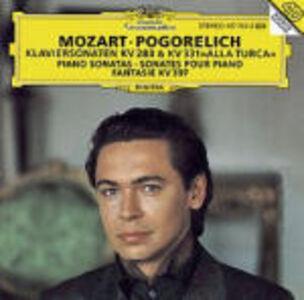 CD Sonate per pianoforte K283, K331 - Fantasia K397 di Wolfgang Amadeus Mozart