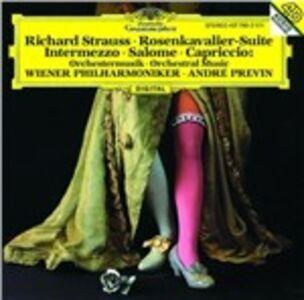 CD Rosenkavalier Suite - Intermezzo - Salome - Capriccio di Richard Strauss
