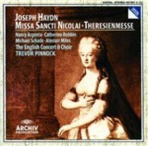 CD Missa Sancti Nicolai - Theresienmesse di Franz Joseph Haydn