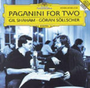 Paganini per due - CD Audio di Niccolò Paganini,Gil Shaham