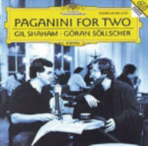 CD Paganini per due di Niccolò Paganini