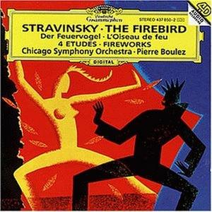 CD L'uccello di fuoco (L'oiseau de feu) - Fuochi d'artificio (Feu d'artificie) - Quattro Studi di Igor Stravinsky