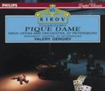 CD La dama di picche di Pyotr Il'yich Tchaikovsky