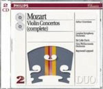 CD Concerti per violino completi di Wolfgang Amadeus Mozart