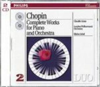 CD Le opere per pianoforte e orchestra di Fryderyk Franciszek Chopin