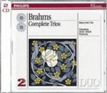 Trii con pianoforte - CD Audio di Johannes Brahms,Beaux Arts Trio,Arthur Grumiaux