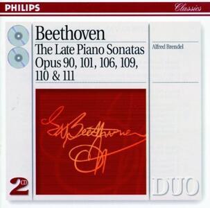 Sonate per pianoforte n.27, n.28, n.29, n.30, n.31 - CD Audio di Ludwig van Beethoven,Alfred Brendel