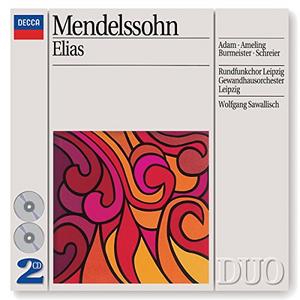 CD Elias Ga - German Languag di Felix Mendelssohn-Bartholdy