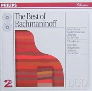 CD Best of di Sergei Vasilevich Rachmaninov