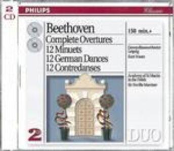 CD Ouvertures complete - Danze tedesche di Ludwig van Beethoven