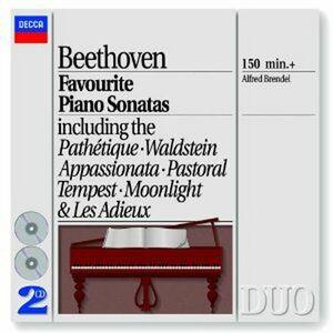 CD Sonate per pianoforte n.8, n.14, n.15, n.26, n.17, n.21, n.23 di Ludwig van Beethoven