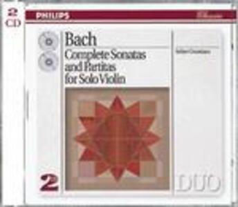 Sonate e Partite per violino complete - CD Audio di Johann Sebastian Bach,Arthur Grumiaux