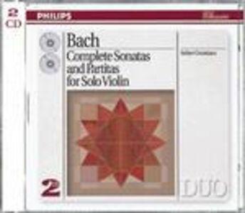 CD Sonate e Partite per violino complete di Johann Sebastian Bach