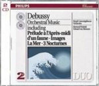 CD Musiche orchestrali di Claude Debussy