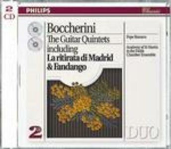 CD Quintetti con chitarra di Luigi Boccherini