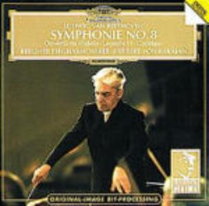 Sinfonia n.8 - CD Audio di Ludwig van Beethoven,Herbert Von Karajan,Berliner Philharmoniker