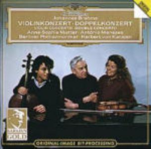 CD Concerto per violino - Doppio concerto di Johannes Brahms