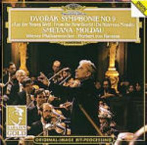 CD Sinfonia n.9 / La Moldava (Die Moldau) Antonin Dvorak , Bedrich Smetana