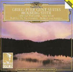 CD Peer Gynt Suites - Holberg Suite / Finlandia - Valse triste Edvard Grieg , Jean Sibelius