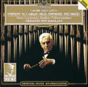Sinfonia n.3 - CD Audio di Camille Saint-Saëns,Herbert Von Karajan,Berliner Philharmoniker,Pierre Cochereau