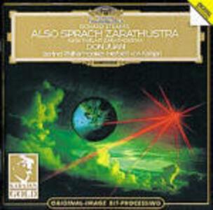 Così parlò Zarathustra (Also Sprach Zarathustra) - Don Juan - CD Audio di Richard Strauss,Herbert Von Karajan,Berliner Philharmoniker
