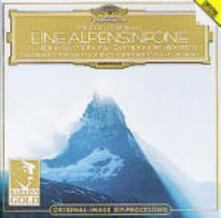 Sinfonia delle Alpi (Eine Alpensinfonie) - CD Audio di Richard Strauss,Herbert Von Karajan