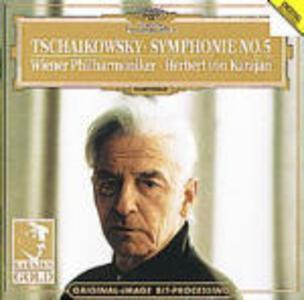 Sinfonia n.5 - CD Audio di Pyotr Il'yich Tchaikovsky,Herbert Von Karajan,Wiener Philharmoniker